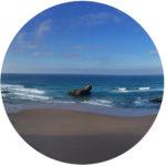 Feedback für Boje Arndt Kiesiel | o Foto einer Bucht bei Sabres | Portugal als Symbol für die Sitzungsreise
