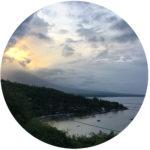Beispiele aus Klientensicht: Foto eines Sonnenuntergangs im Norden von Bali / Indonesien als Symbol für Beispiele aus Klientensicht